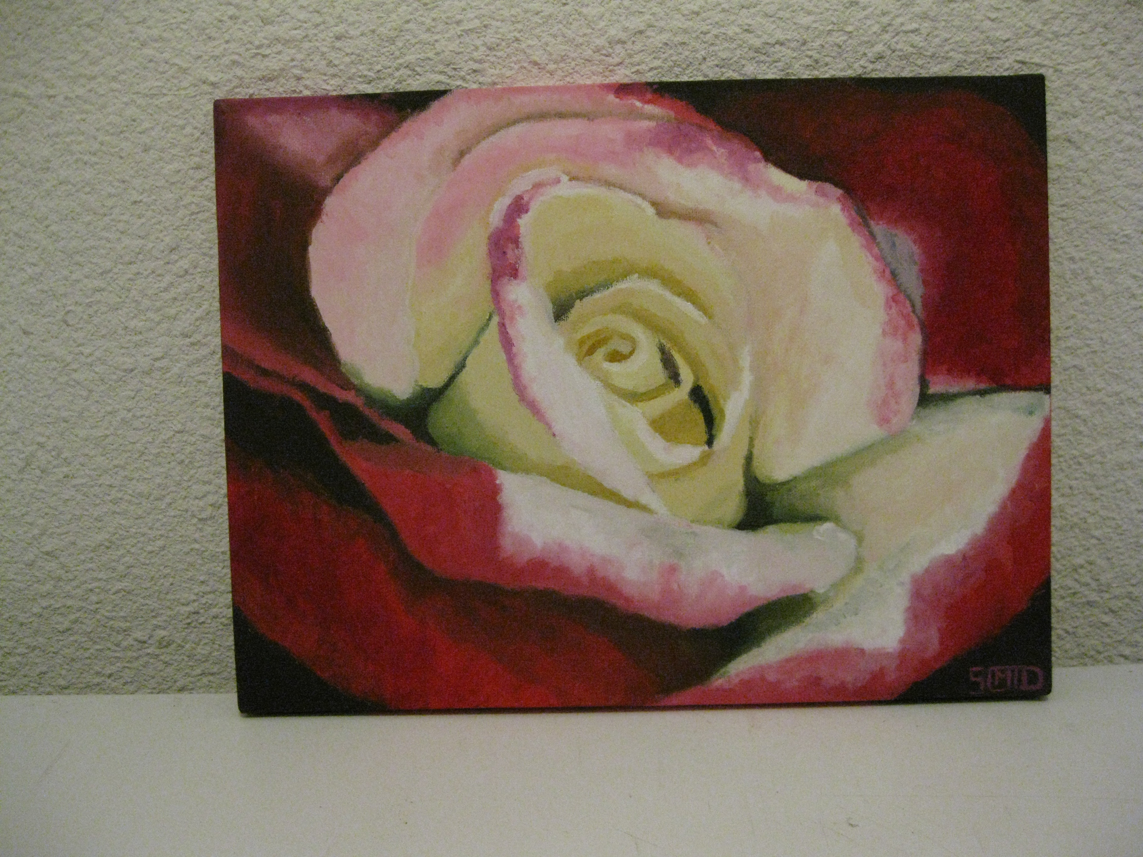 Stephy Mon Atelier De Peinture Coeur De Rose